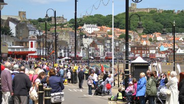 Stunning Scarborough - South Bay Promonade (Olympic torch day)