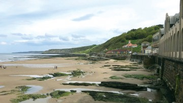 Stunning Scarborough - South Bay beach, outside The Spa
