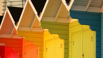 Stunning Scarborough - Beach chalets at North Bay